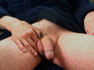 Swallow it and when I make you cum....swallow that too.  K
