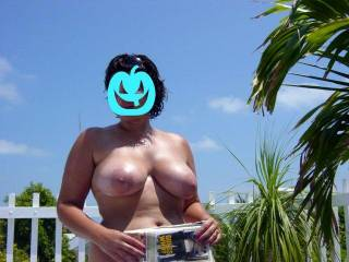Would love to cum on her tits...we should get together..maybe share some pics..or more..in PBC here!