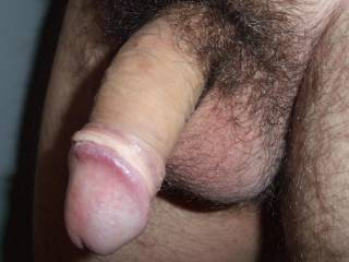 Your cock is so nice to look at when it is soft like this, and just resting on your balls.  HD