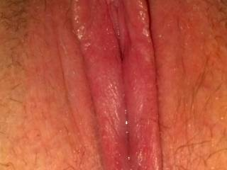 Another shot of my pussy after I used my new pussy pump! I couldn't wait for my husband to cram his cock into my throbbing pussy!