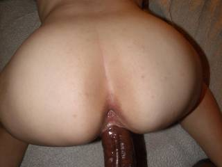 SHE LOVED THE FEELING OF MY HUGE BLACK COCK SLIDING INSIDE HER CREAMY PUSSY FROM BEHIND