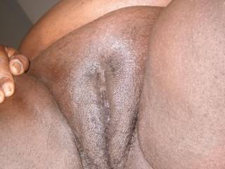 Nice shot of my pussy.  It missing something ........ I know cum.  Anyone want to put a load in there?