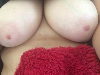 your boobies are awesome babe, would love to suck your nipples and have you rub those monsters over my body, mmmmm xxx