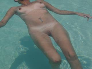 Summer's here..... Who wants to join me for a skinny dip.....?