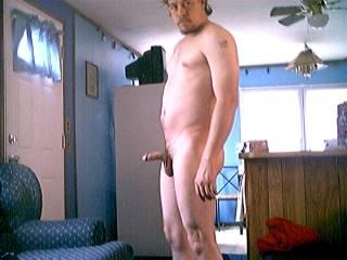 me naked posing