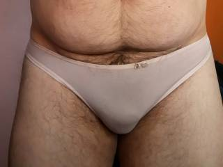 Wearing a classic smoothy panty. Feeling so feminine. Do you like?