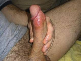 Want you to let me stroke that hot cock for you.