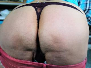 Love the lace thong in my crack, ready to wear to get groceries?