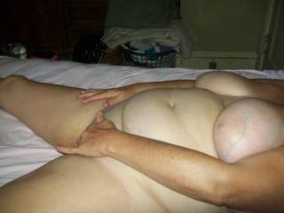 love to pound your pussy an cum all over your nice tits