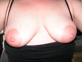I would love to shoot a huge load all over your titties and watch my cum drip off your delicious nipples.