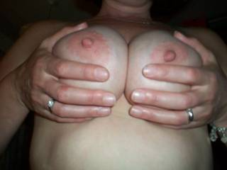 Would like to splash those great nipples with some hot cum !! Keep posting all the great views !!