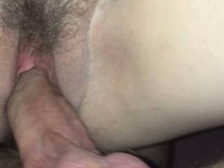 Fucking Cassie Doggy style under view