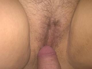 Pussy and cock...wife and I