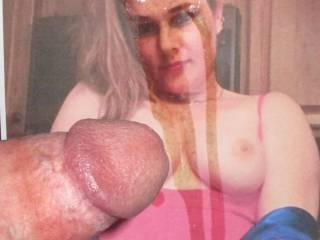 Nice tits on my bitch J !!