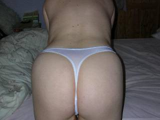 lovely sexy pose would like to prise those panties aside and lick your ass mmmm fantastic