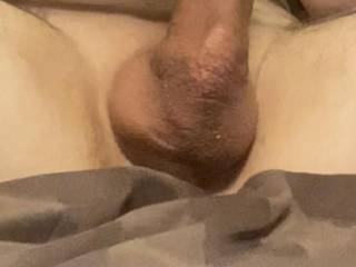 His cock was so big i could barely put my hand around it..