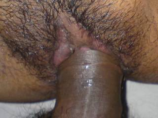 My friend fully penetrated my darling cunt.His cock was throbbing vigorously and squirting his thick globs of cum inside her womb making her pregnant !!! Wooow how sweet of it.!!!!