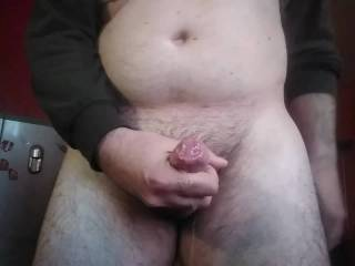 Afternoon jerking with huge cum! Like?