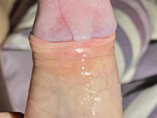 Do you like seeing my cum running down my cock  So how would you like to clean me