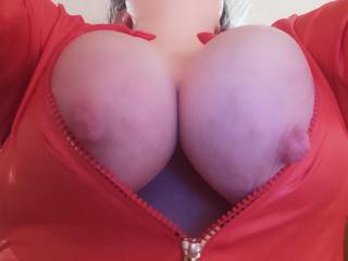 My hard nipples. They really need to play with