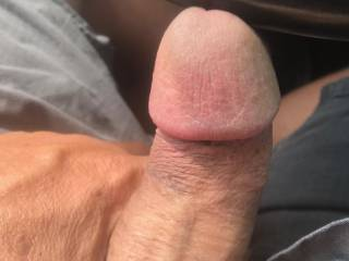 some cock play as i\'m driving around