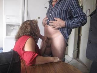 my wife sucking cock