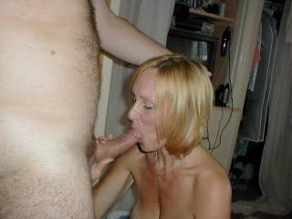 Ummm perhaps a big mouth....to suck on that hard cock.  I love worshipping a nice thick cock with a blowjob.   K