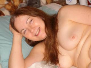 seeing your beautiful breasts makes me happy no matter what time of year it is.....gorgeous.