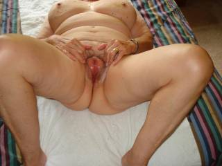 I have not checked in to see her hot pussy in a while. As usual, I blew a thick load of cum wishing I was fucking this hot hole!