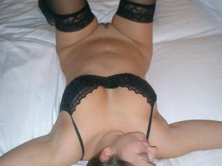 Mmm I would love to get your legs over my shoulders so I can fuck you hard and deep, and just as I'm going to cum I would pull out and shoot my load all over your tight little body...