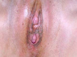 Luv to give your huge swollen clit a good licking and sucking...Followed by a good fucking!!