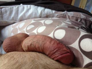 Me, cock ring laying around.