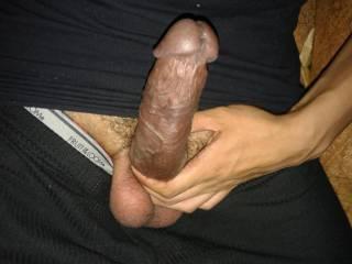 uncut cock with huge veins 2
