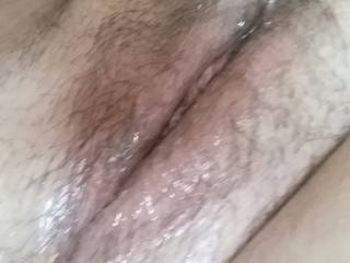 my wet, hairy pussy