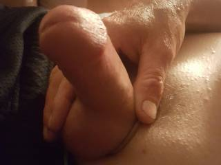 Caught him watching vids on zoig. Mmmmm What should I do with this hard cock? Suggestions?
