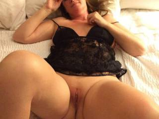 Wife totally exposed again...