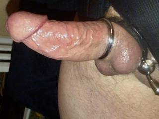 he loves his cock tied and i like it thick