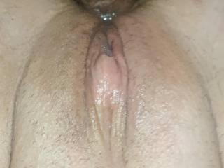My big cock deep in her ass