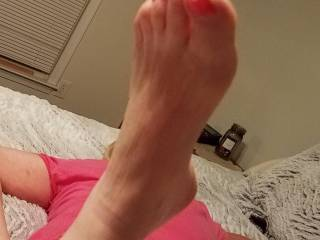 Another for the foot lovers.
