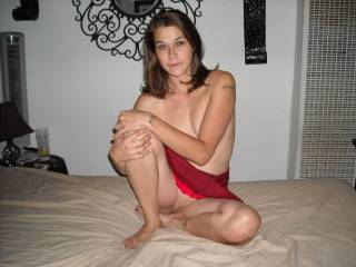 A pretty girl.  Love the upskirt shot of your lovely pussy...