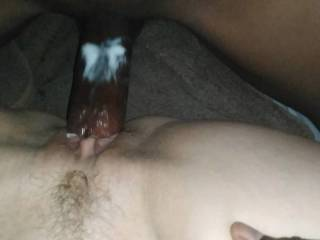Nice afterlunch sex. Cumm over her
