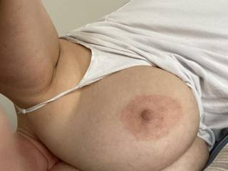 Nice photo of Mrs Bigtits telling me these big beauties are waiting for your attention.