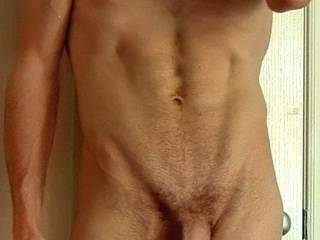 careful you do not get TOO skinny....but wonderful cock!