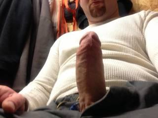 My husbands beautiful fat cock... I love watching other women enjoying it. I love to share