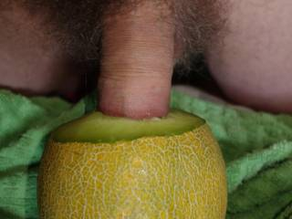pushing my dick deep into a juice melon hole ... any woman would like to try to deep throat my dick?