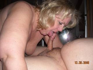 married swinger wife teasing my cock before she swallows me balls deep