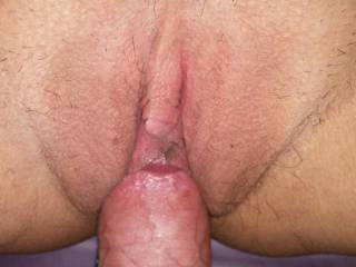 I bet when do I get to slide my rock hard cock i. And rub my head all over her clit it looks very big and tasty