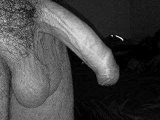 Big balls.....nice size uncut and very suckabe cock