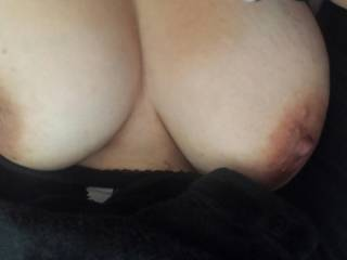Mmmmm, beautiful boobs and your nipples are so suckable