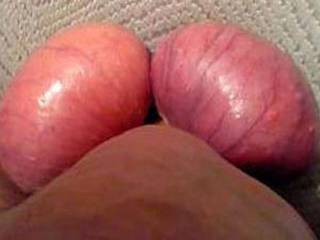Out of Lovolust\'s Blusheroticon; subject: My balls, eggs, scrotum, testix - real, unfaked, true & genuine picts - from funny through sexy-porny up to brutal; it is for the Women ...